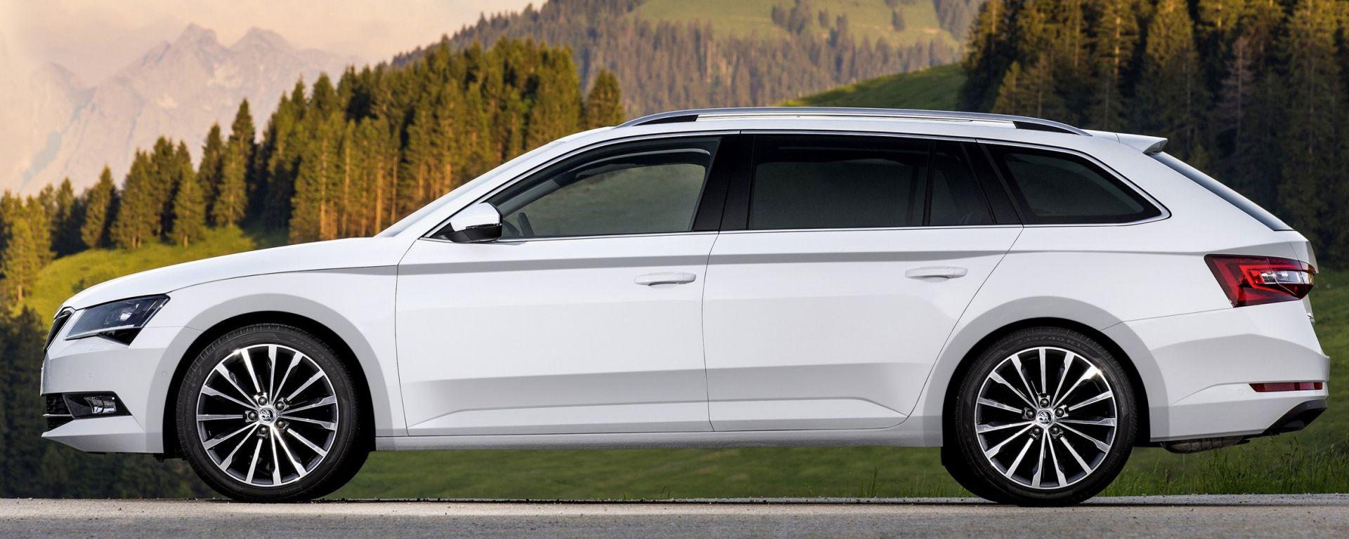 Škoda: la Superb Wagon vince il Red Dot Award per il design