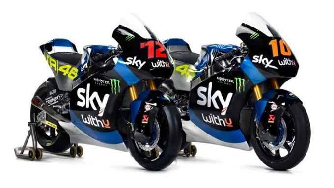 Sky Racing MotoGP VR46 2020, Moto2: le moto di Marco Bezzecchi e Luca Marini