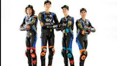 Sky Racing MotoGP VR46 2020, Moto2 & Moto3: Marco Bezzecchi, Luca Marini, Celestino Vietti e Andrea Migno