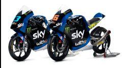 Sky Racing MotoGP VR46 2020, Moto3: le moto di Andrea Migno e Celestino Vietti