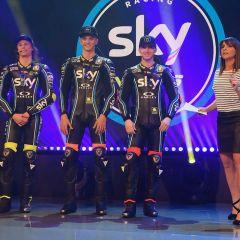 Motogp 2018: Svelato oggi a Milano lo Sky Racing Team 2018, la squadra di giovani talenti capitanata da Valentino Rossi
