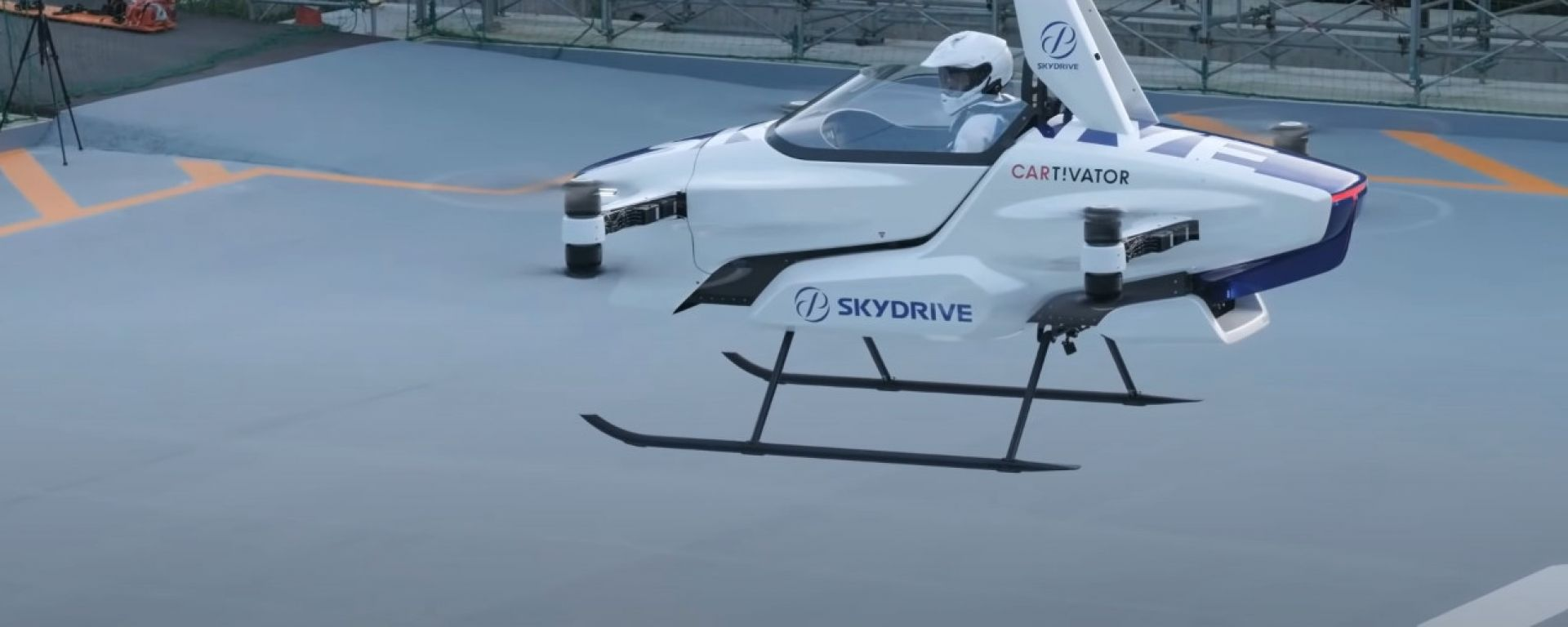 SkyDrive Project SD-03: l'auto volante al suo primo test