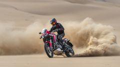 Slle dune con la Honda CRF1100L Africa Twin 2020
