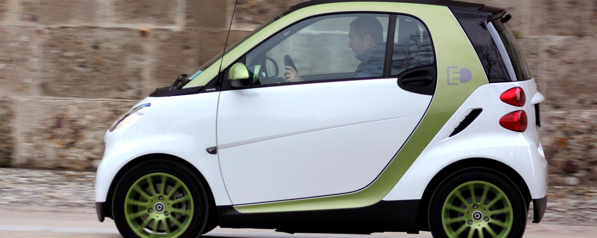 Smart fortwo Electric Drive live: atto finale