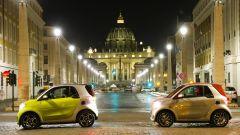 Smart EQ fortwo, forfour e cabrio: la gamma elettrica per la mobilità in città