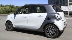 Smart EQ Forfour restyling: 3/4 posteriore