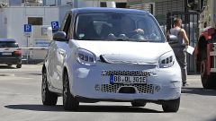 Smart EQ Forfour restyling: frontale