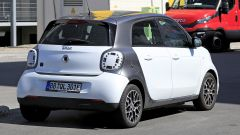 Smart EQ Forfour restyling: il posteriore