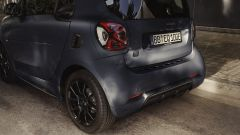 Smart EQ fortwo edition bluedawn 2021: i cerchi sono da 16