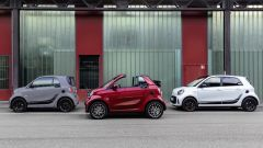 Smart EQ ForTwo, ForTwo Cabrio, ForFour