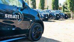 Smart EQ Green Power Run: alcune delle auto in gara