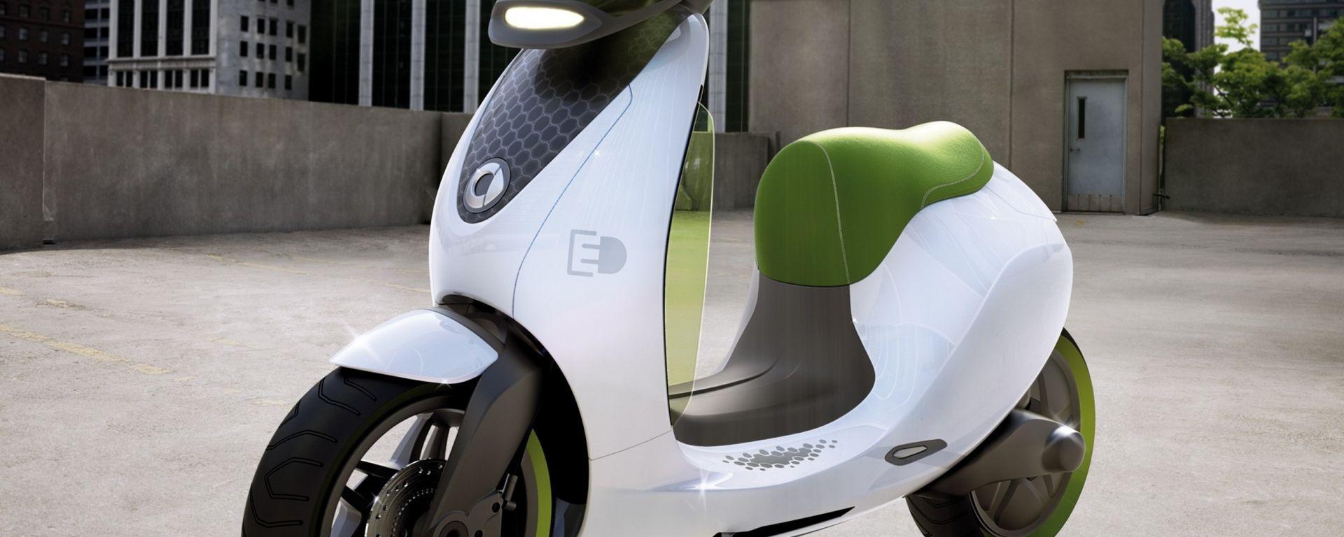 Smart eScooter: arriverà nel 2014
