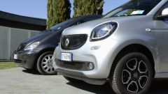 Smart forfour 2015 vs Mercedes classe A 1997 - Immagine: 1