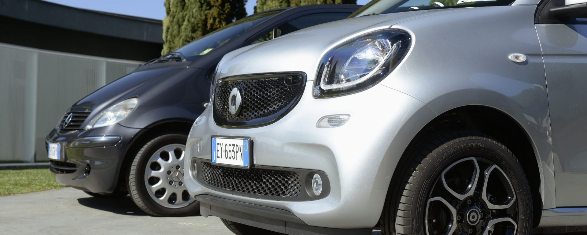 Smart forfour 2015 vs Mercedes classe A 1997