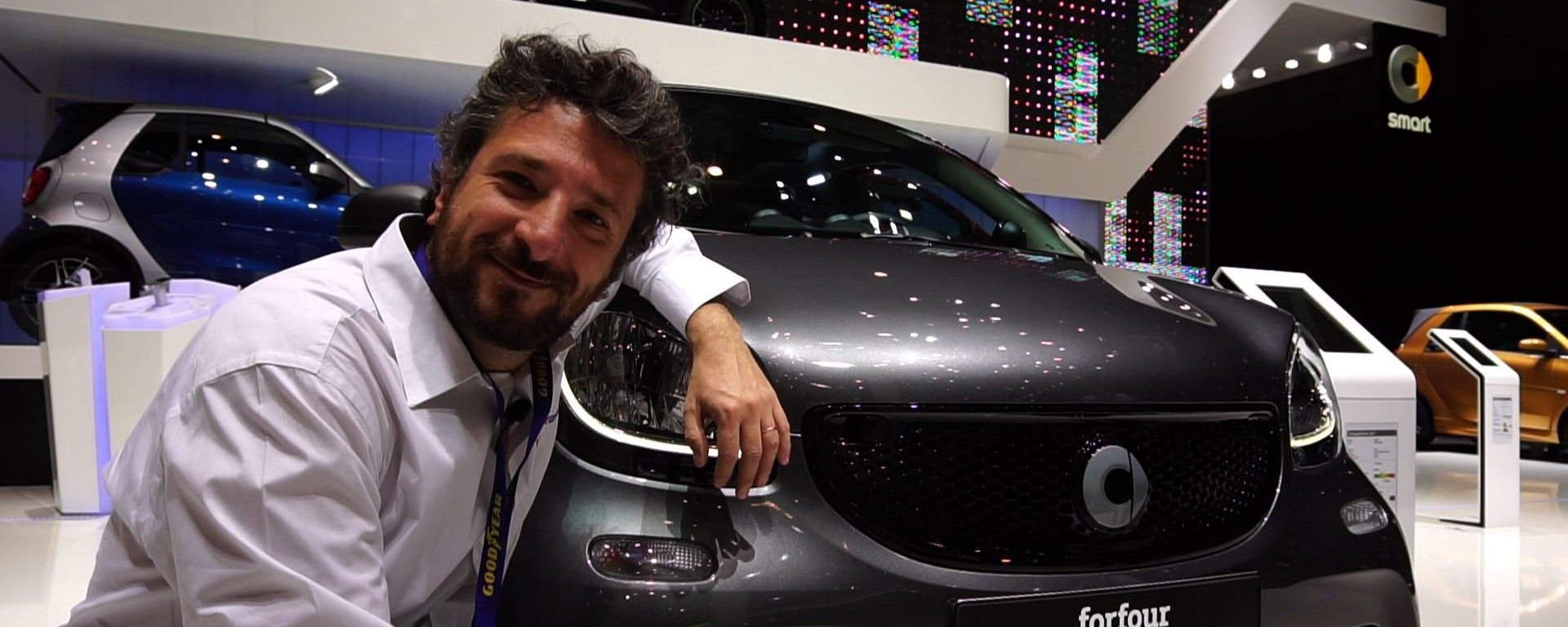 Smart ForFour Crosstown live dal Salone di Ginevra 2017