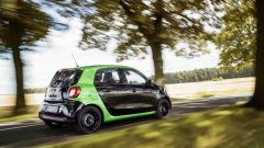 Smart ForFour Electric Drive 2017: ha batterie al litio per un'autonomia di 160 km