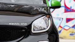 Smart ForFour Electric Drive 2017: il faro anteriore