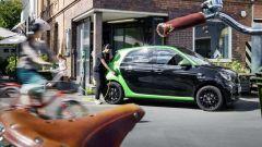Smart ForFour Electric Drive 2017: motore elettrico da 81 cv e 160 Nm di coppia