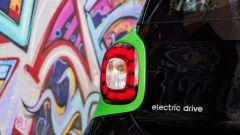 Smart ForFour Electric Drive 2017: un dettaglio della scritta
