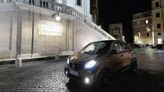 smart forfour electric drive, a prova di ZTL