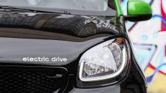 Smart Forfour Electric Drive: dettaglio del faro anteriore