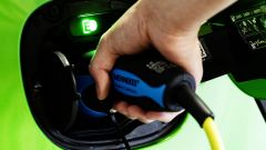 Smart Forfour Electric Drive: dettaglio della presa di ricarica