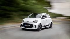 Smart Forfour EQ: il frontale