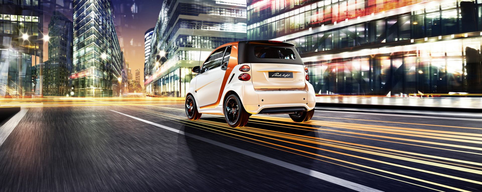 Smart fortwo edition flashlight