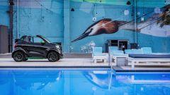 Smart fortwo Electric Drive 2017 cabrio, giù la capote
