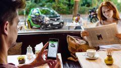 Smart fortwo Electric Drive 2017, con una app si può pre-climatizzare