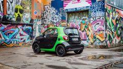 Smart fortwo Electric Drive 2017, il lato-b