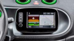 Smart fortwo Electric Drive 2017, il sistema di infotainment