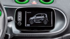Smart fortwo Electric Drive 2017, l'infotainment