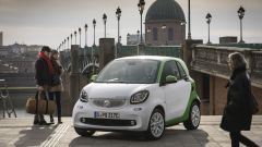 Smart Fortwo Electric Drive 2017: vista 3/4 anteriore