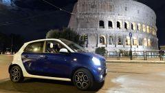 smart fortwo electric drive, ideale per la mobilità urbana