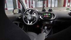 Smart Fortwo EQ: gli interni