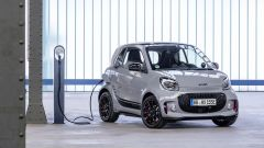 Smart Fortwo EQ in carica