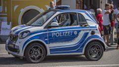 Smart times 2016: la fortwo della Polizei