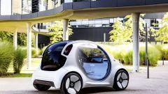 Smart Vision EQ Fortwo è elettrica e autonoma