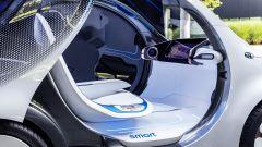Smart Vision EQ Fortwo è priva di volante
