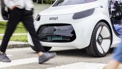 Smart Vision EQ Fortwo: lo schermo Black Panel nel frontale