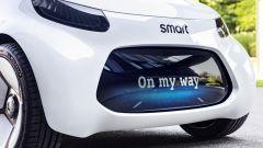 Smart Vision EQ Fortwo visualizza messaggi personalizzati