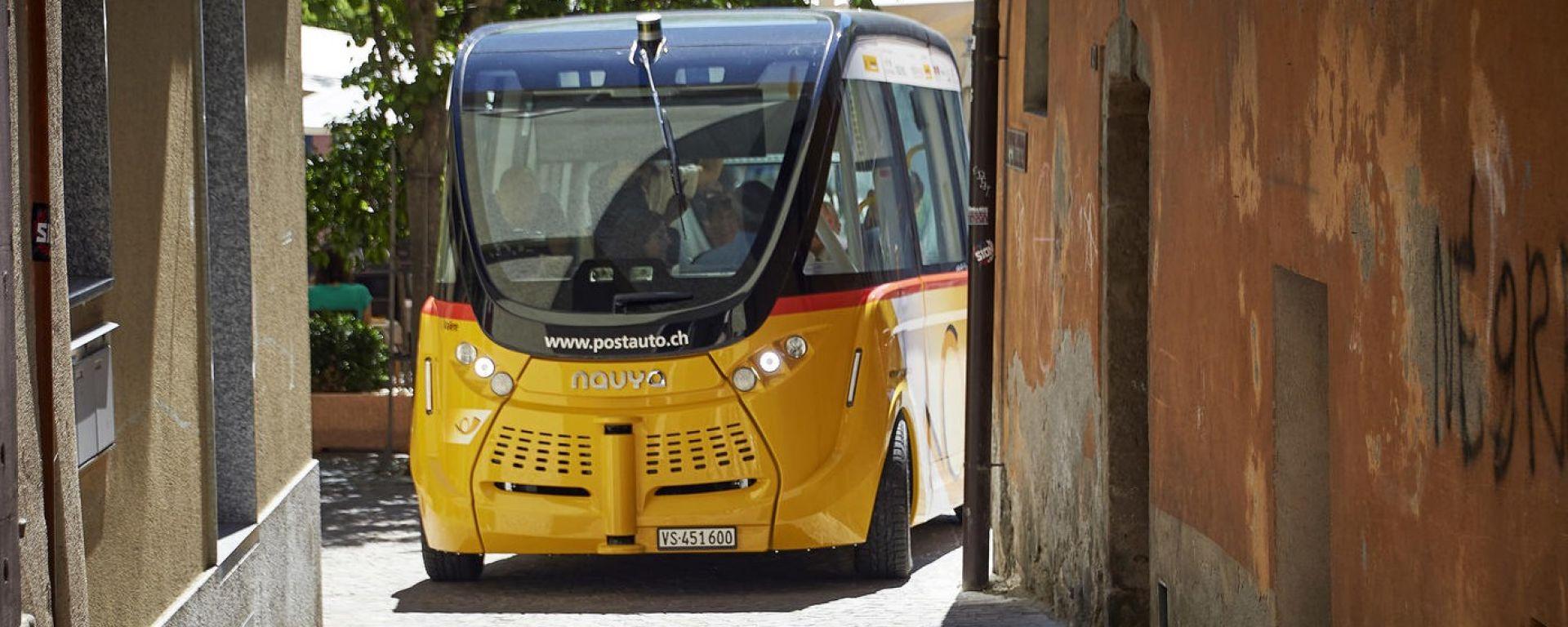 Smartshuttle: ripresi i test dei bus a guida autonoma