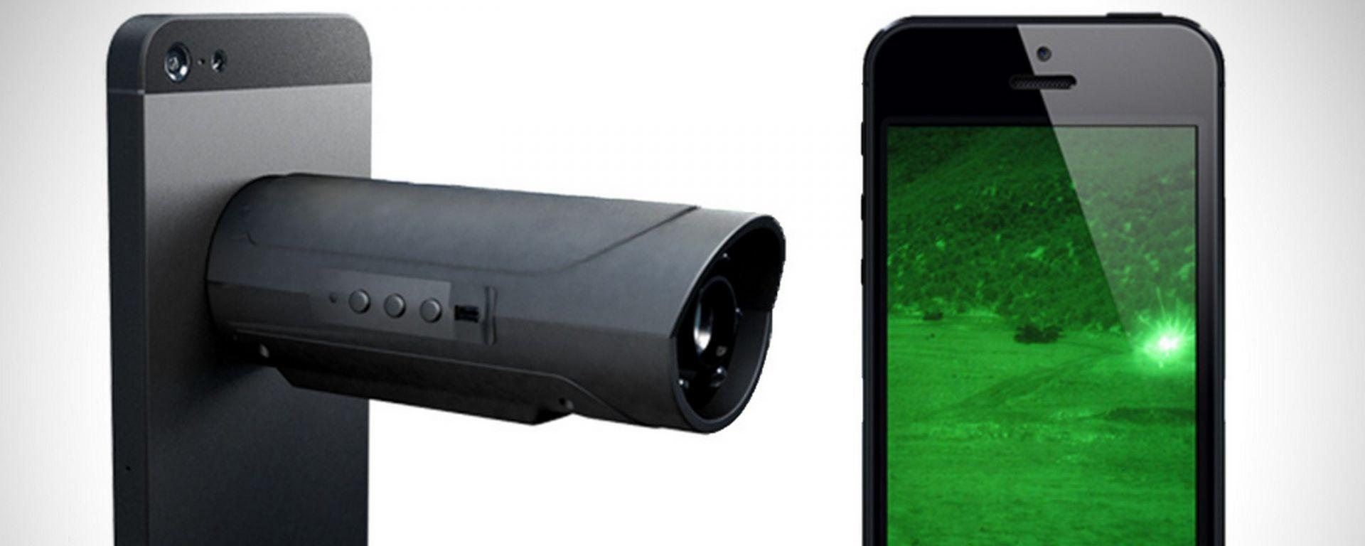Snooperscope: lo smartphone vede anche di notte