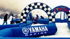Snow Kids Yamaha: il tracciato di prova delle motoslitte