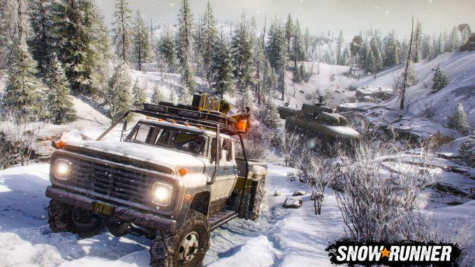 Snowrunner: una schermata di gioco dalla Season 1