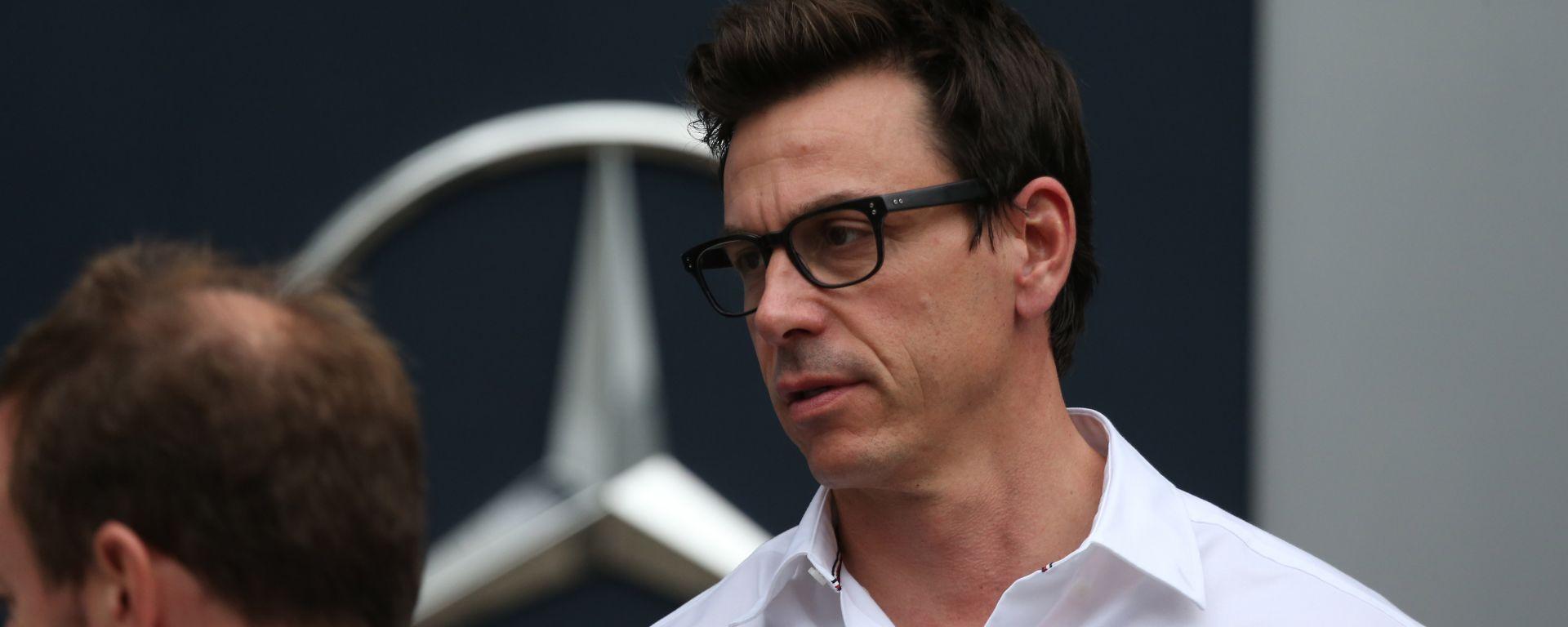 """Wolff: """"La Ferrari ha perso la vittoria"""""""