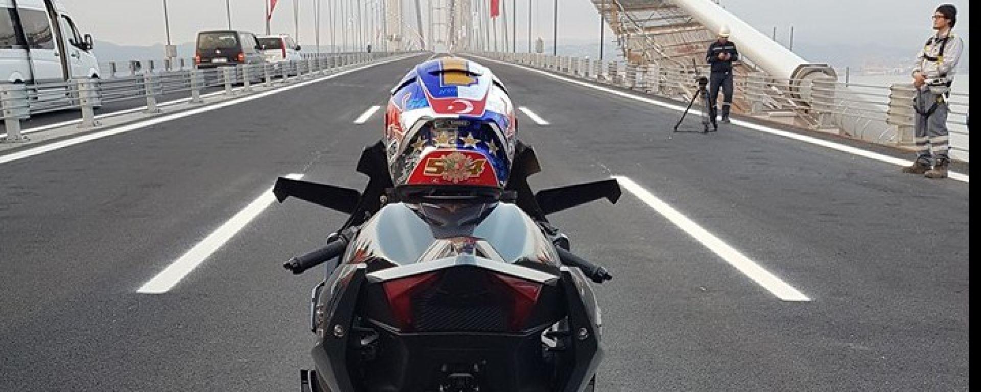 Sofuoglu e la Kawasaki Ninja H2R verso il record di 400 km/h