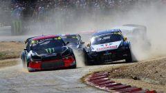 Solberg, Kristofferson e Loeb in battaglia nel campionato Rallycross 2016