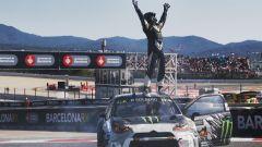 Solberg sulla sua Citroen DS4 - WRX GP Spain